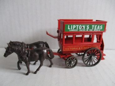 MATCHBOX Models of Yesteryear Kutsche Liptons Teas