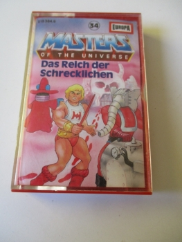 Hörspiel MC Masters of the Universe He-Man 34 EUROPA
