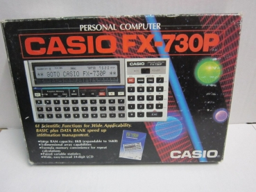 CASIO Personal Computer FX-730P OVP