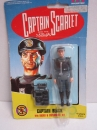 Actionfigur Captain Scarlet Captain Black VIVID 10 cm OVP