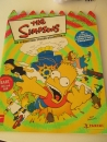PANINI Album The Simpsons Die Springfield Sticker Collection II ca. 75%