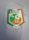 Wimpel Fussball The Football Association if Ireland FAI 7x9 cm