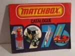MATCHBOX Modellauto Katalog catalogue 1976