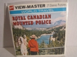 3 View-Master 3D Scheiben Royal Canadian Mounted Police alt OVP